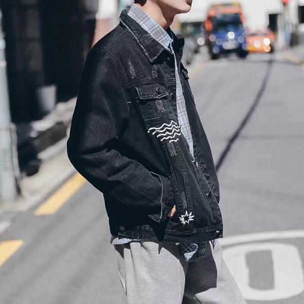 áo khoác jean nam tphcm 2