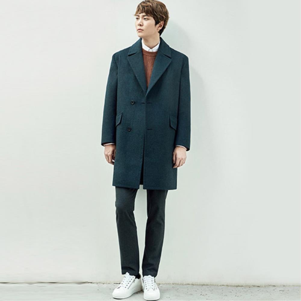 áo khoác măng tô nam 1