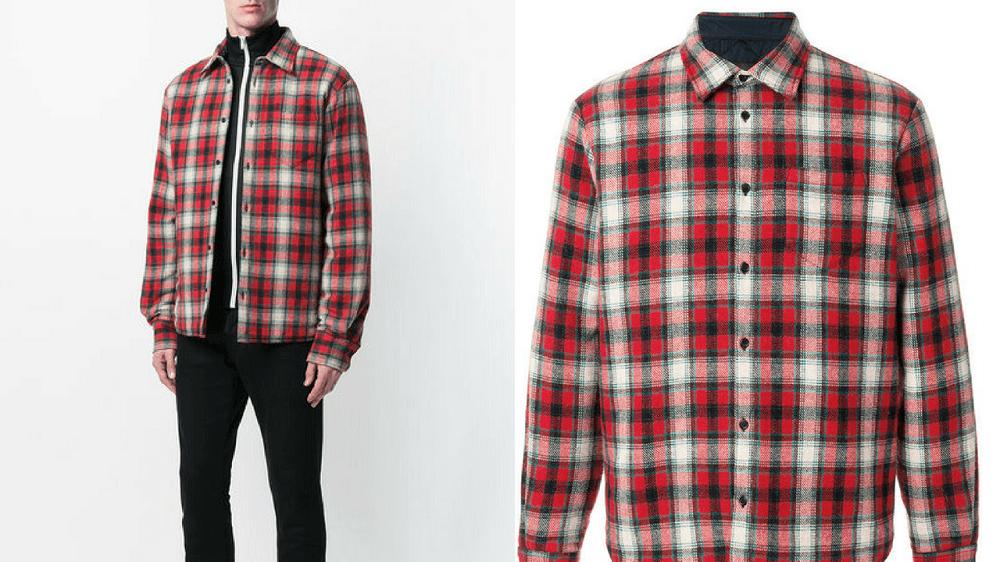 áo khoác flannel nam 5